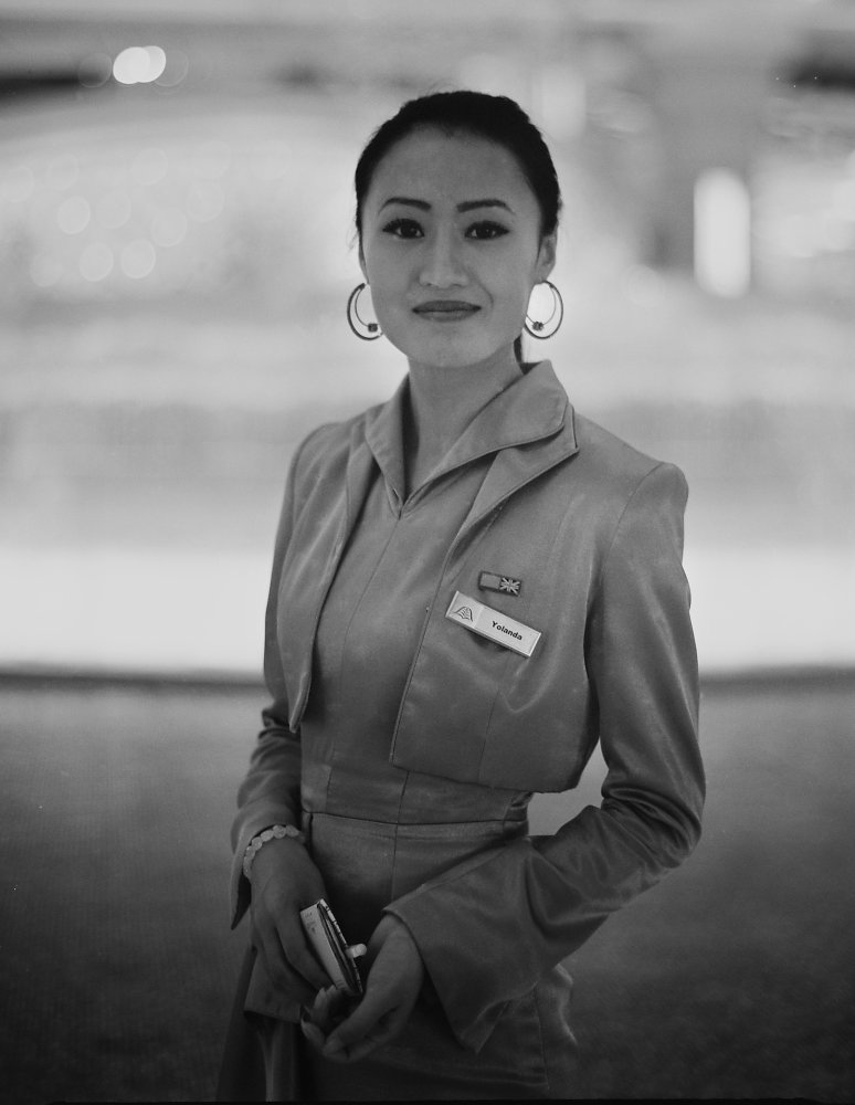 Galaxy Macau worker